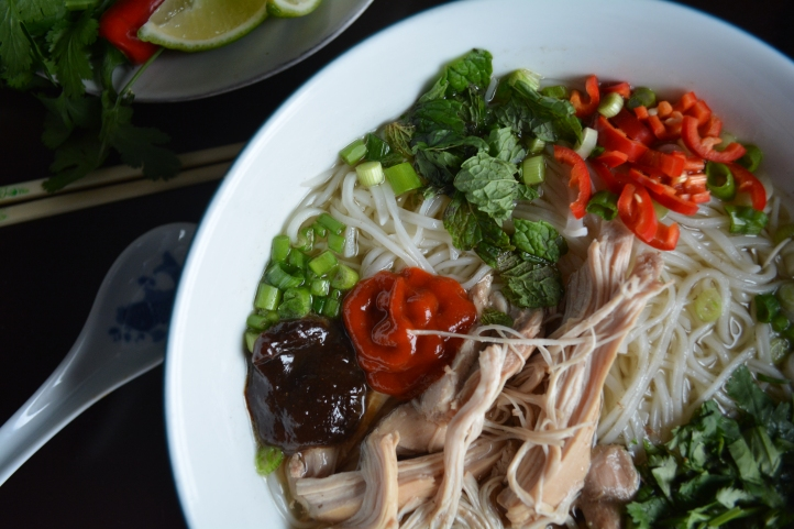 CHICKEN PHO RECIPE  #VIETNAMESE #GLUTENFREE