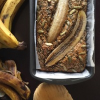 BANANA + SEED BREAD: Use Up Those Browned, Tired Fruits