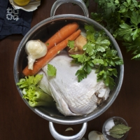 The Ultimate CHICKEN BROTH and 3 Ways to Use It